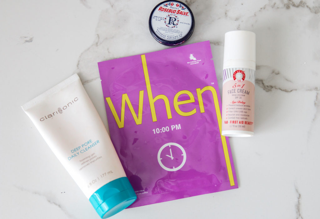 Today's Morning Skin Care Routine