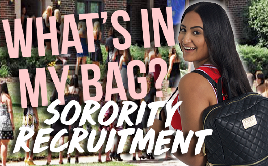 ESSENTIALS FOR SORORITY RECRUITMENT